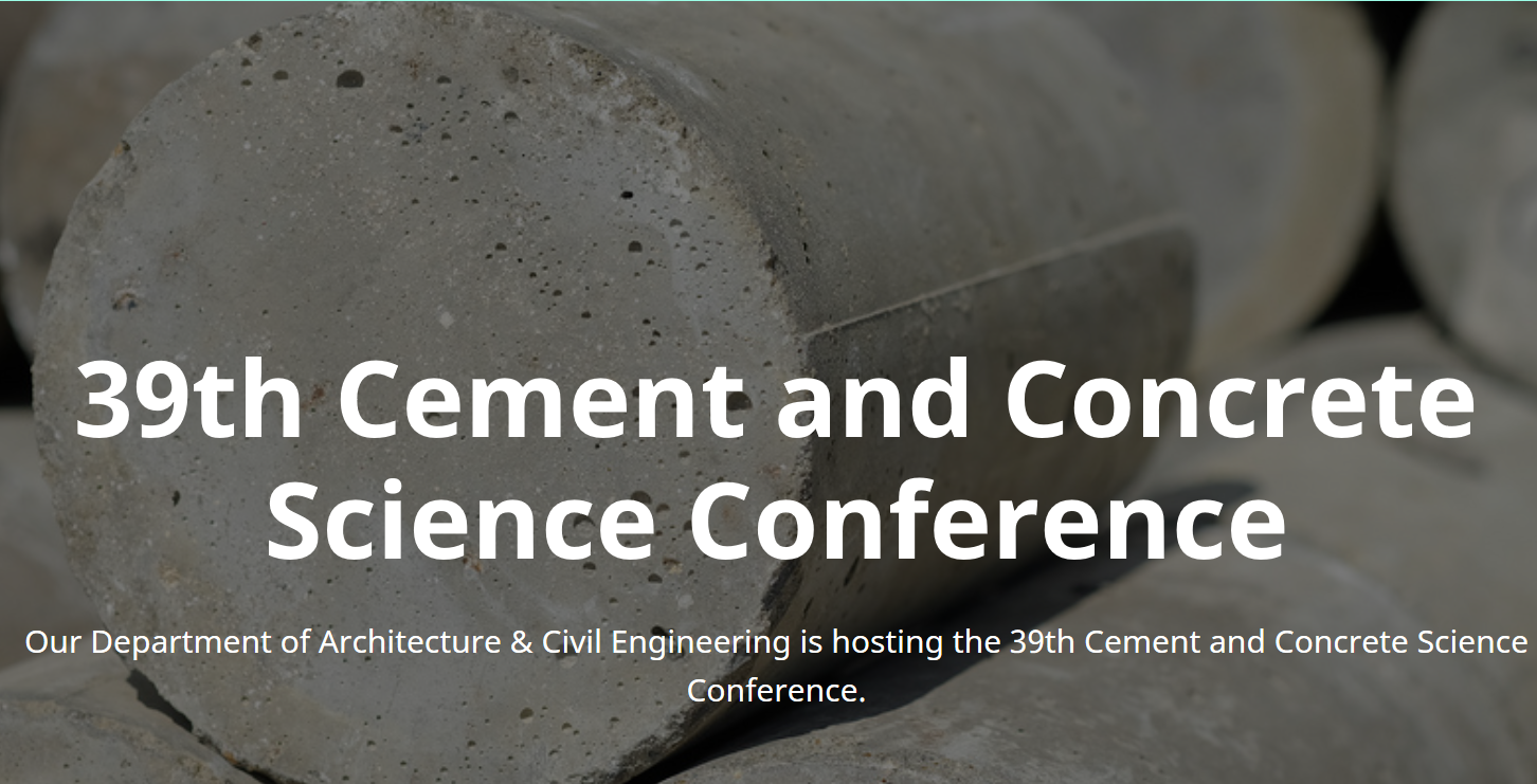 39th cement conference