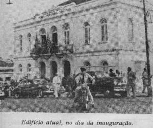 inauguração EESC em 1953 - credito Tomaz Ceneviva