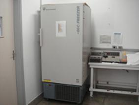 Laboratório de Bioquímica e Transplante Hepático(refrigerador)