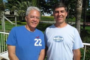 Figura 4 - Professores Orlando e Gustavo Ribeiro