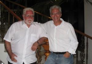 Figura 7 - Professores Sérgio Zucoloto e Orlando