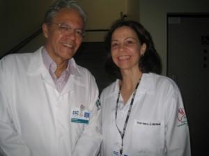 Figura 8 - Professores Orlando e Ana Martinelli