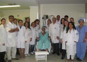 Fig. 4 - Parte da equipe de Transplante de Fígado do HC-FMRP-USP