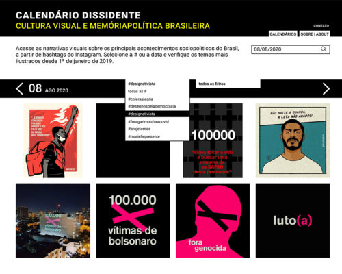 Dissident design on social media