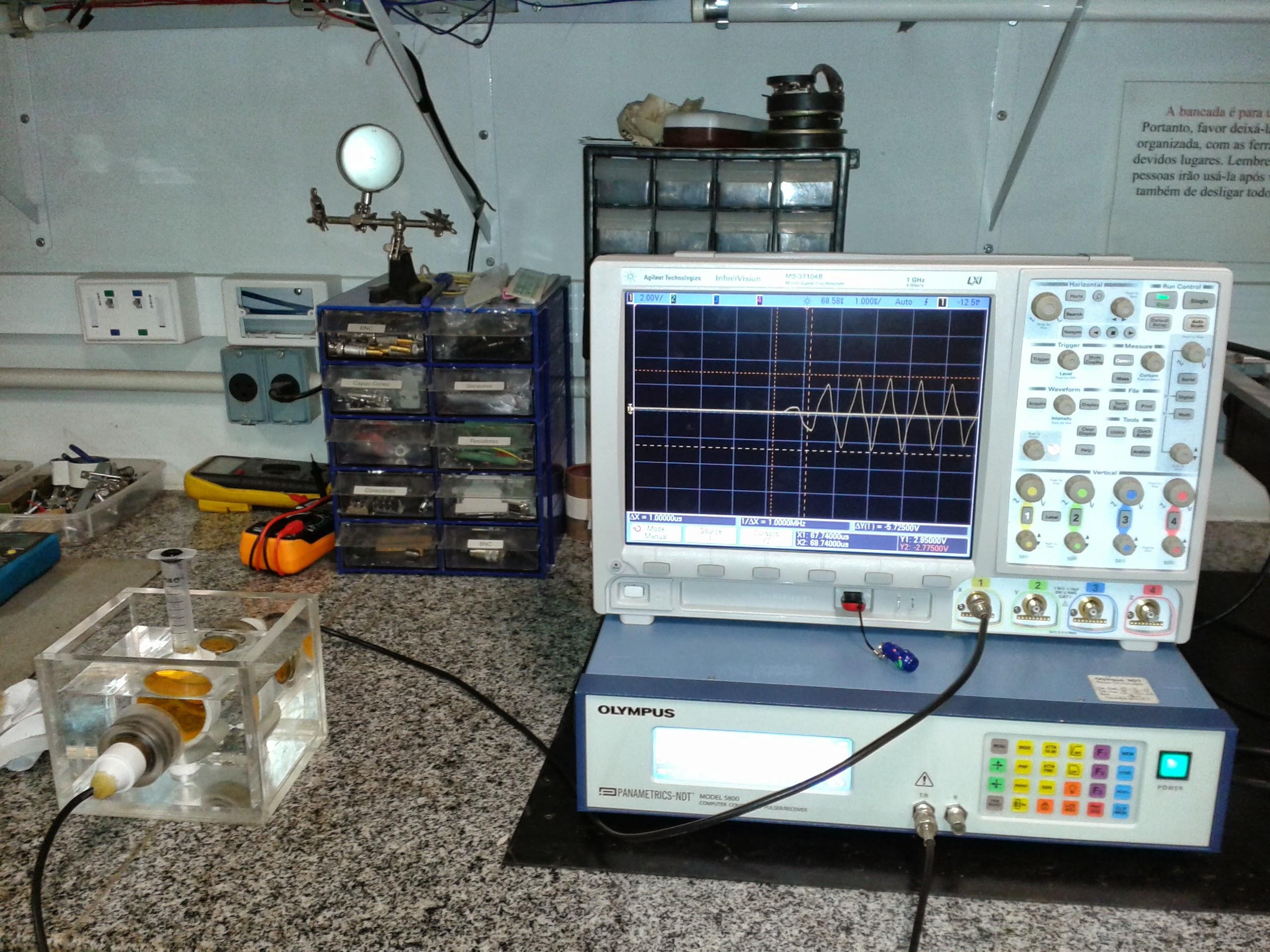 Osciloscópio 10GSample