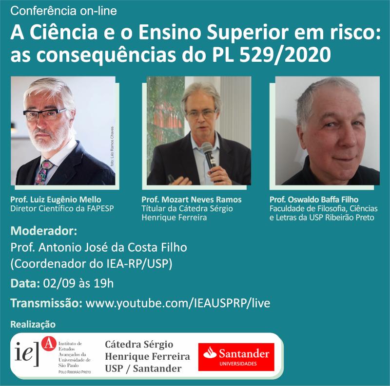 Conferência debate PL que coloca em risco Ciência e universidades