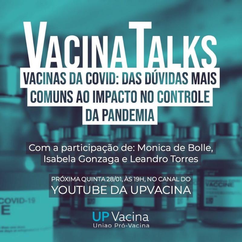 Roda de conversa on-line discute dúvidas sobre vacinas contra covid