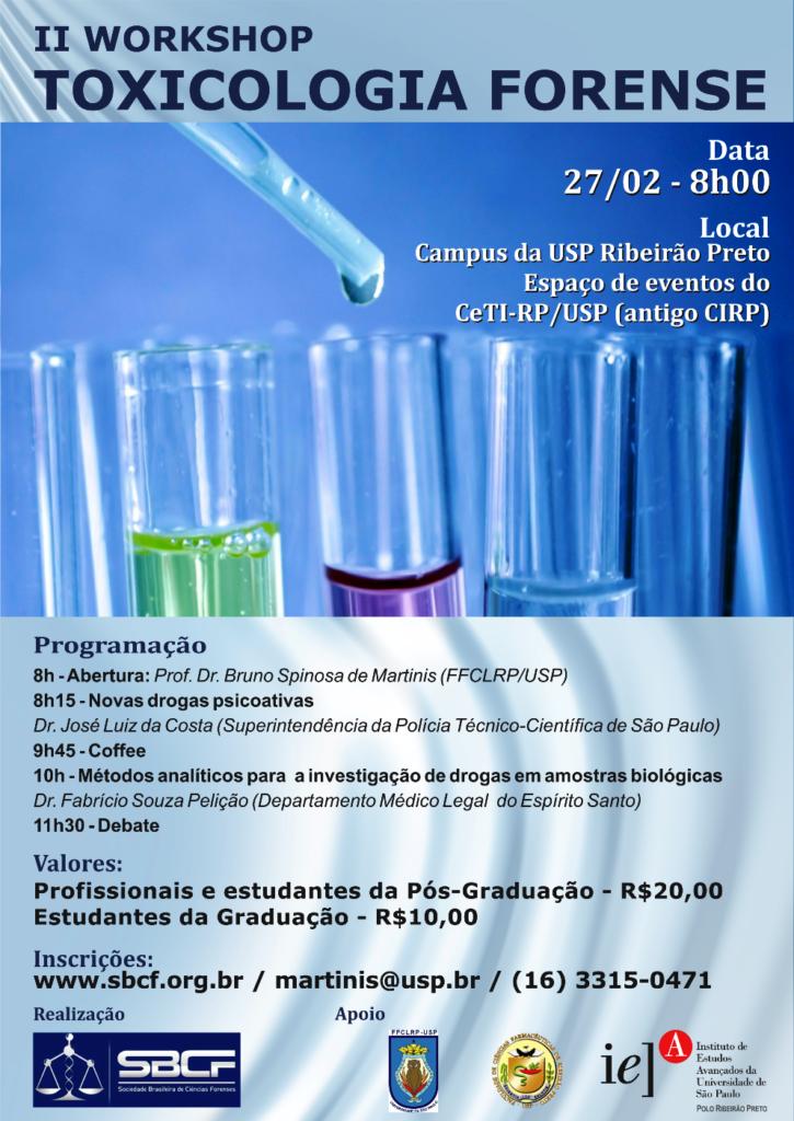 II Workshop Toxicologia Forense