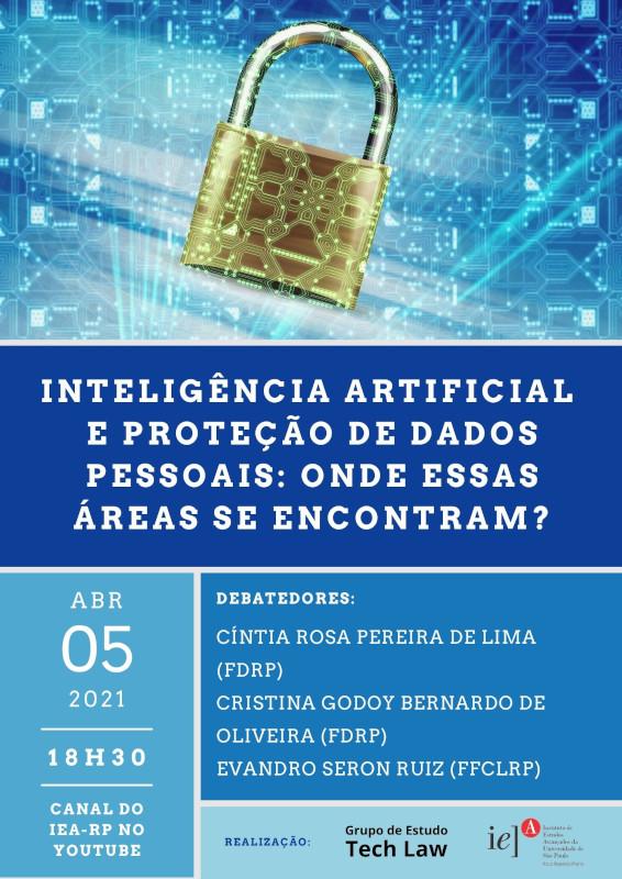 Evento on-line discute inteligência artificial e proteção de dados