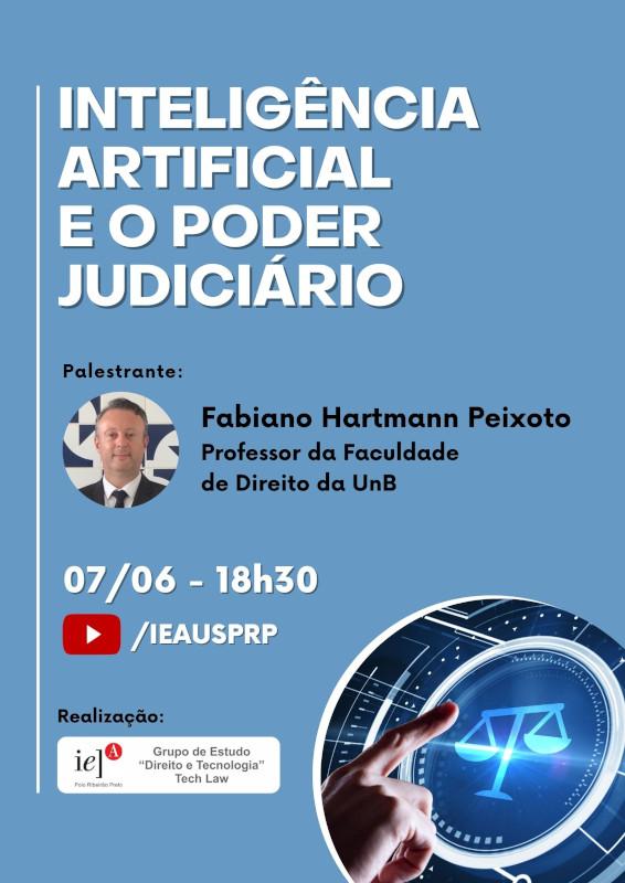 Uso da inteligência artificial pelo Poder Judiciário é tema de webinar
