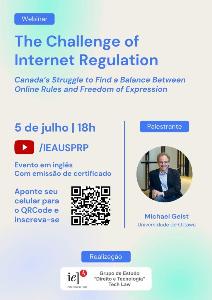 Evento on-line discute regulação de conteúdo na internet e liberdade de expressão