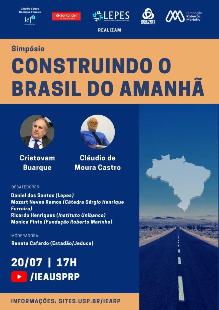 Simpósio discute caminhos para construção do futuro do Brasil