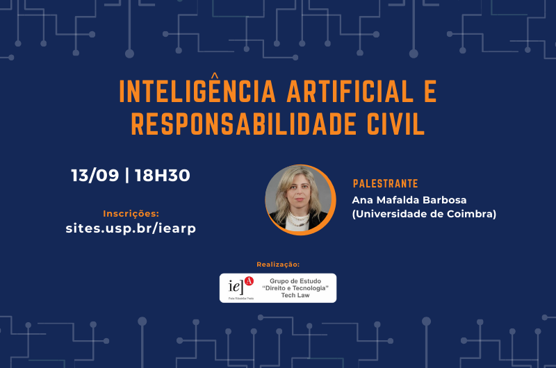 Evento discute responsabilidade civil no uso da inteligência artificial
