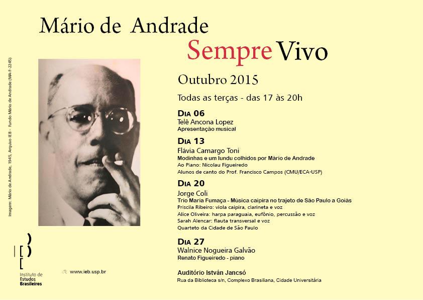 Arquivo IEB, fundo Mário de Andrade.