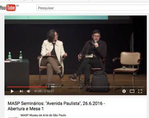 Marta Bogea e Renato Cymbalista Masp Seminários Avenida Paulista