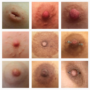 genderless_nipples, perfil no Instagram que questiona censura sexista das políticas de uso do serviço